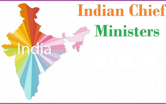 Names of Chief Ministers of Indian States (2019-Latest)