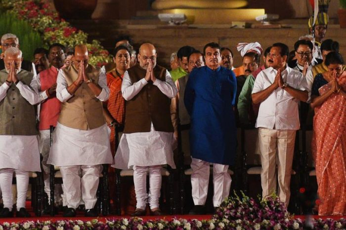 Modi 2.0 cabinet: New Ministers Including First-Timers: See List Here :