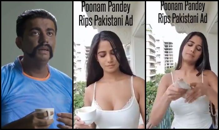 Poonam Pandey Gave An Epic Reply To The Pakistani Promo Ad Featuring Abhinandan Ahead of Ind vs Pak World Cup Match 2019