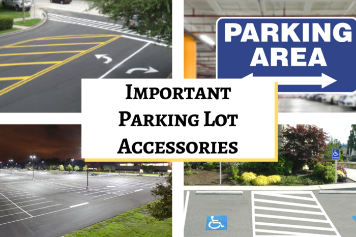 What Are Important Parking Lot Accessories?