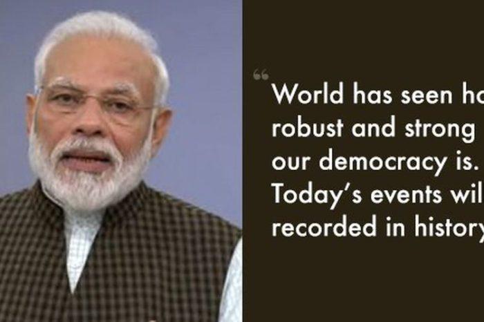 PM Modi Addresses The Nation After Supreme Court's Ayodhya Verdict