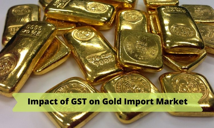 Impact of GST on Gold
