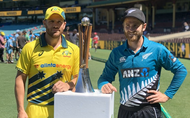 Australia vs New Zealand ODI series 2020 - 1st ODI