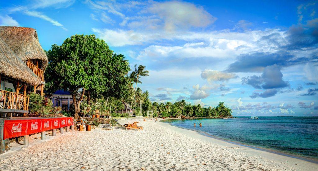 Matira Beach, Bora-Bora, Tahiti