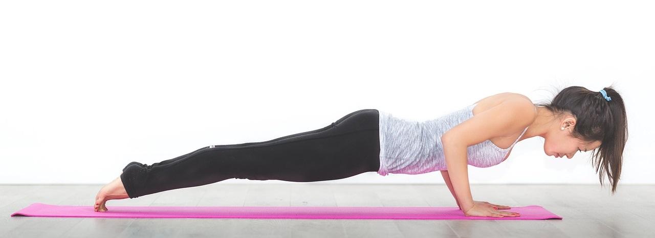 Women health with yoga & exercise