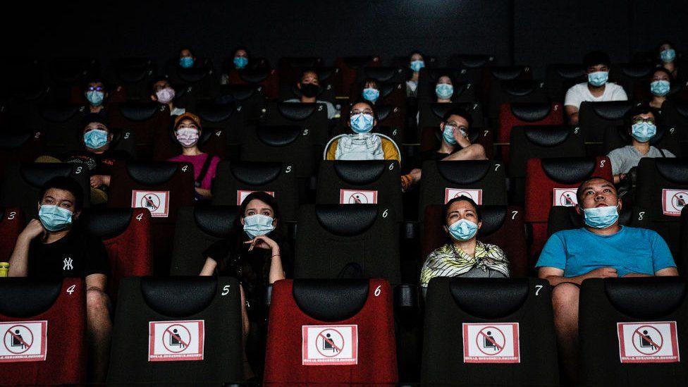 Cinema halls in Wuhan China after Corona - Ibandhu