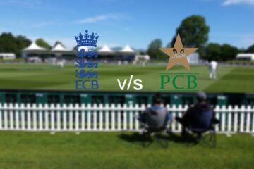 England vs Pakistan Test series 2020