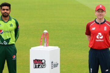 England vs Pakistan T20I series 2020