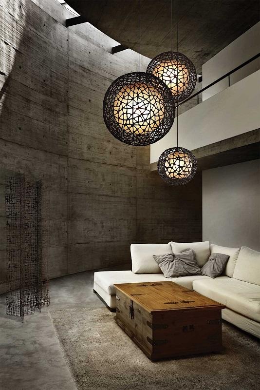 Living Room Pendant Lights - Ibandhu
