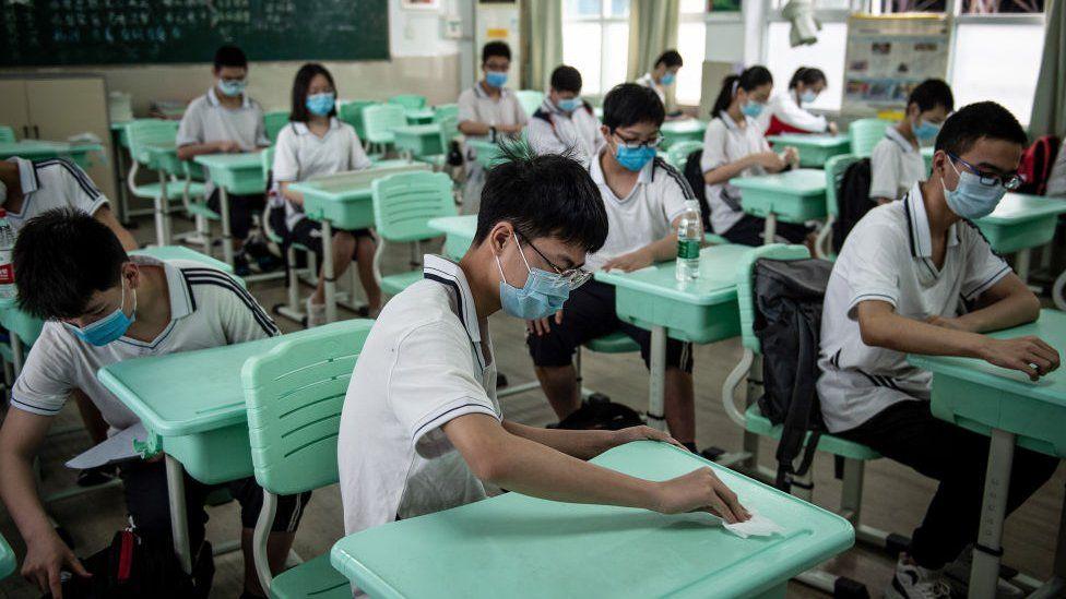 schools in wuhan afte corona - ibandhu