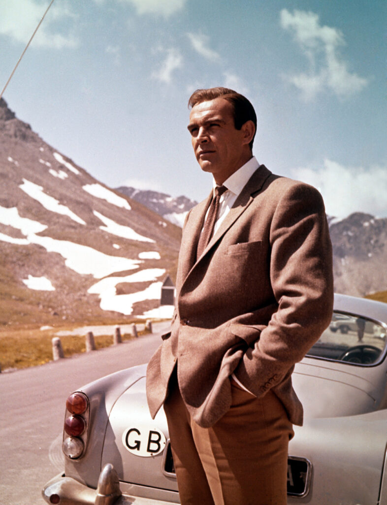 GOLDFINGER, Sean Connery - Ibandhu