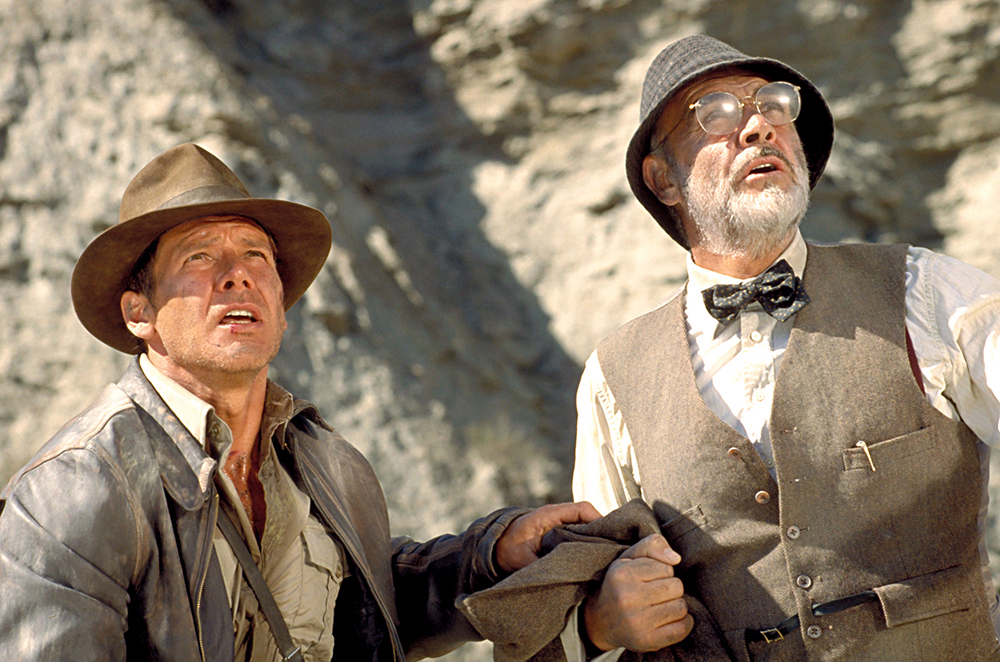 INDIANA JONES AND THE LAST CRUSADE, Harrison Ford - Ibandhu