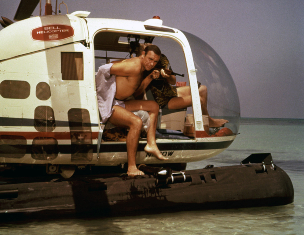 THUNDERBALL, Sean Connery - Ibandhu