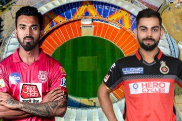 RCB vs PBKS IPL 2021
