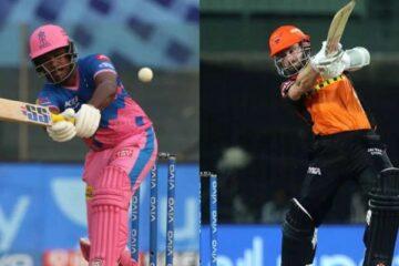 SRH vs RR IPL 2021