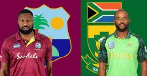South Africa tour of West Indies 2021 T20I Series