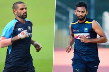 India tour of Sri Lanka 2021 ODI Series