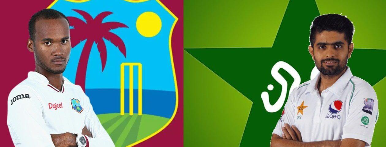 Pakistan tour of West indies 2021 Test Series