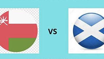 Scotland vs Oman WCT20 2021